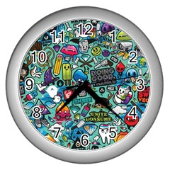 Comics Wall Clocks (Silver)