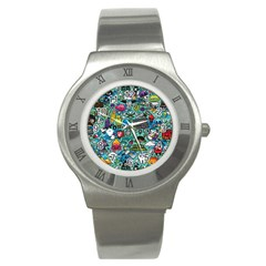 Comics Stainless Steel Watch