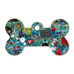 Comics Dog Tag Bone (one Side)