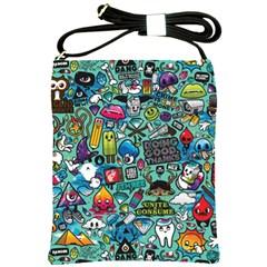 Comics Shoulder Sling Bags