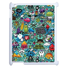 Comics Apple iPad 2 Case (White)
