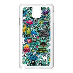 Comics Samsung Galaxy Note 3 N9005 Case (white)
