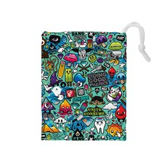 Comics Drawstring Pouches (Medium)