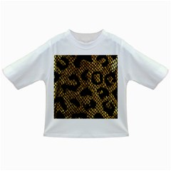 Metallic Snake Skin Pattern Infant/toddler T Shirts