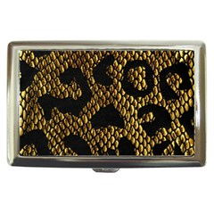 Metallic Snake Skin Pattern Cigarette Money Cases