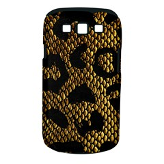 Metallic Snake Skin Pattern Samsung Galaxy S Iii Classic Hardshell Case (pc+silicone)