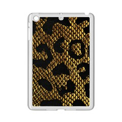 Metallic Snake Skin Pattern iPad Mini 2 Enamel Coated Cases