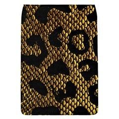 Metallic Snake Skin Pattern Flap Covers (s)