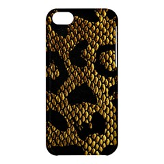 Metallic Snake Skin Pattern Apple Iphone 5c Hardshell Case