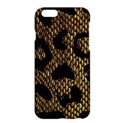 Metallic Snake Skin Pattern Apple iPhone 6 Plus/6S Plus Hardshell Case