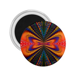 Casanova Abstract Art Colors Cool Druffix Flower Freaky Trippy 2.25  Magnets