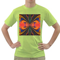 Casanova Abstract Art Colors Cool Druffix Flower Freaky Trippy Green T-Shirt