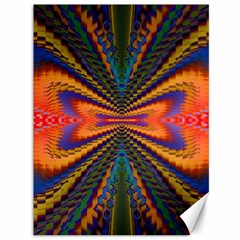 Casanova Abstract Art Colors Cool Druffix Flower Freaky Trippy Canvas 36  X 48