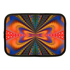 Casanova Abstract Art Colors Cool Druffix Flower Freaky Trippy Netbook Case (Medium)