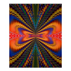 Casanova Abstract Art Colors Cool Druffix Flower Freaky Trippy Shower Curtain 60  x 72  (Medium)