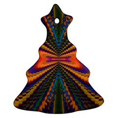 Casanova Abstract Art Colors Cool Druffix Flower Freaky Trippy Ornament (Christmas Tree)