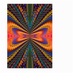 Casanova Abstract Art Colors Cool Druffix Flower Freaky Trippy Large Garden Flag (two Sides)