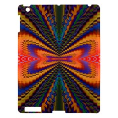 Casanova Abstract Art Colors Cool Druffix Flower Freaky Trippy Apple Ipad 3/4 Hardshell Case