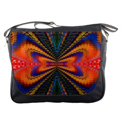 Casanova Abstract Art Colors Cool Druffix Flower Freaky Trippy Messenger Bags