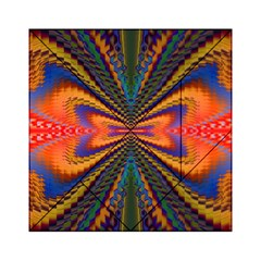 Casanova Abstract Art Colors Cool Druffix Flower Freaky Trippy Acrylic Tangram Puzzle (6  x 6 )