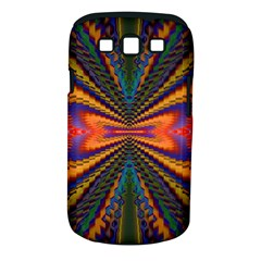 Casanova Abstract Art Colors Cool Druffix Flower Freaky Trippy Samsung Galaxy S III Classic Hardshell Case (PC+Silicone)