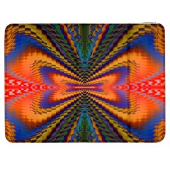 Casanova Abstract Art Colors Cool Druffix Flower Freaky Trippy Samsung Galaxy Tab 7  P1000 Flip Case