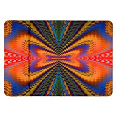 Casanova Abstract Art Colors Cool Druffix Flower Freaky Trippy Samsung Galaxy Tab 8.9  P7300 Flip Case