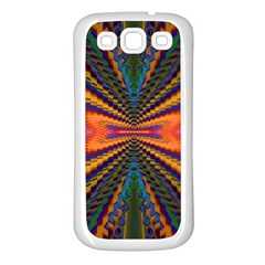 Casanova Abstract Art Colors Cool Druffix Flower Freaky Trippy Samsung Galaxy S3 Back Case (white)