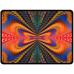 Casanova Abstract Art Colors Cool Druffix Flower Freaky Trippy Double Sided Fleece Blanket (Large)  80 x60 Blanket Back