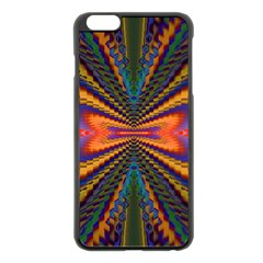 Casanova Abstract Art Colors Cool Druffix Flower Freaky Trippy Apple Iphone 6 Plus/6s Plus Black Enamel Case