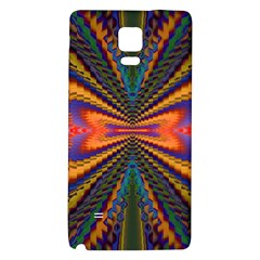 Casanova Abstract Art Colors Cool Druffix Flower Freaky Trippy Galaxy Note 4 Back Case