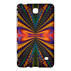 Casanova Abstract Art Colors Cool Druffix Flower Freaky Trippy Samsung Galaxy Tab 4 (7 ) Hardshell Case