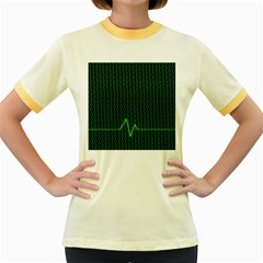 01 Numbers Women s Fitted Ringer T Shirts