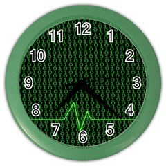 01 Numbers Color Wall Clocks