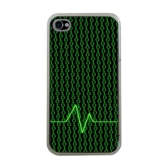 01 Numbers Apple Iphone 4 Case (clear)