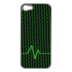 01 Numbers Apple Iphone 5 Case (silver)