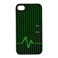 01 Numbers Apple iPhone 4/4S Hardshell Case with Stand
