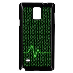 01 Numbers Samsung Galaxy Note 4 Case (Black)