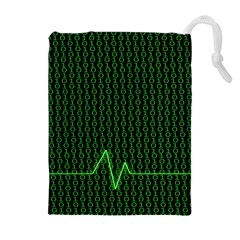01 Numbers Drawstring Pouches (Extra Large)