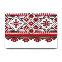 Consecutive Knitting Patterns Vector Small Doormat