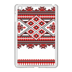 Consecutive Knitting Patterns Vector Apple iPad Mini Case (White)