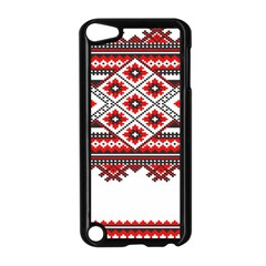 Consecutive Knitting Patterns Vector Apple iPod Touch 5 Case (Black)
