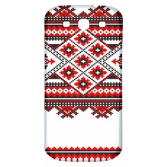 Consecutive Knitting Patterns Vector Samsung Galaxy S3 S Iii Classic Hardshell Back Case