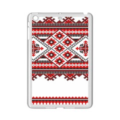 Consecutive Knitting Patterns Vector iPad Mini 2 Enamel Coated Cases