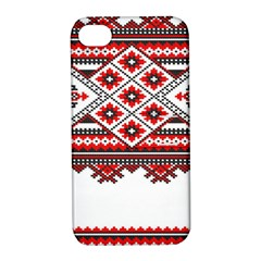 Consecutive Knitting Patterns Vector Apple iPhone 4/4S Hardshell Case with Stand