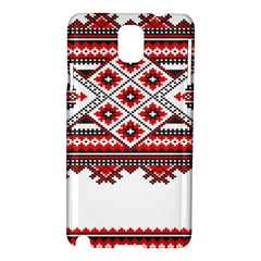 Consecutive Knitting Patterns Vector Samsung Galaxy Note 3 N9005 Hardshell Case