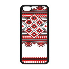 Consecutive Knitting Patterns Vector Apple iPhone 5C Seamless Case (Black)