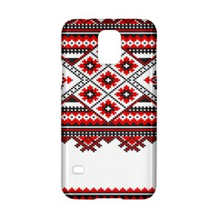 Consecutive Knitting Patterns Vector Samsung Galaxy S5 Hardshell Case