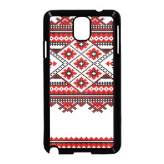 Consecutive Knitting Patterns Vector Samsung Galaxy Note 3 Neo Hardshell Case (black)