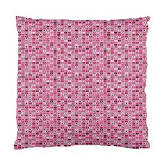 Abstract Pink Squares Standard Cushion Case (two Sides)